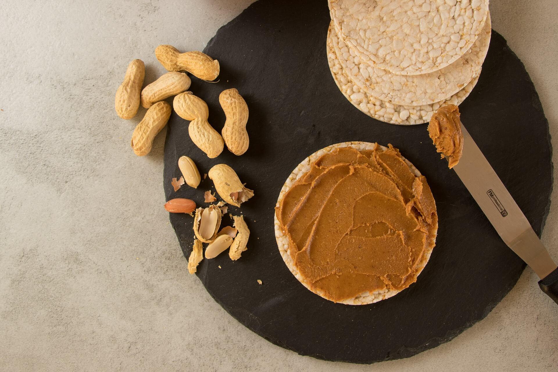 beurre de cacahuète le matin