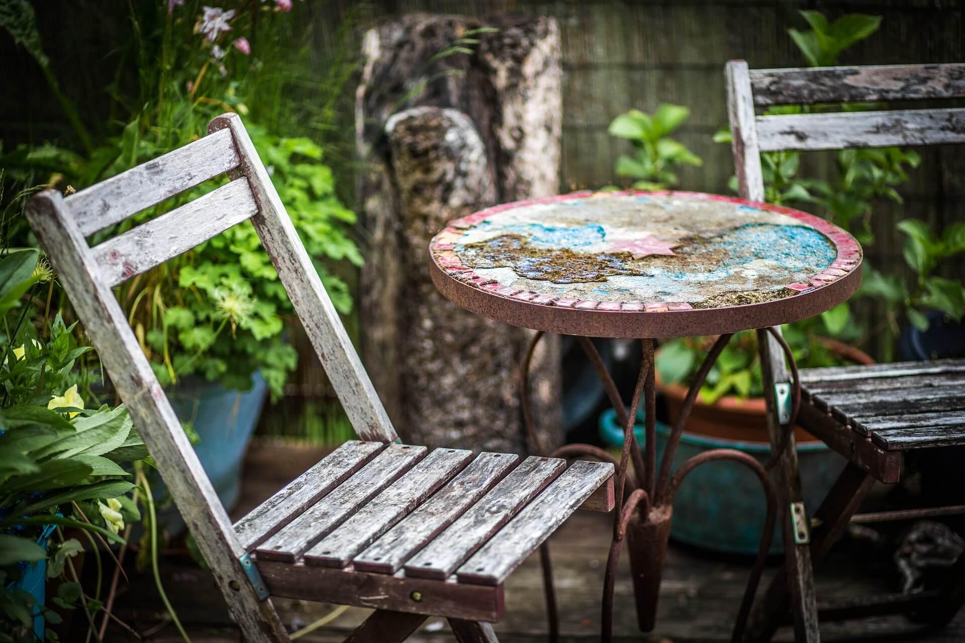 aménager une petite terrasse sans se ruiner