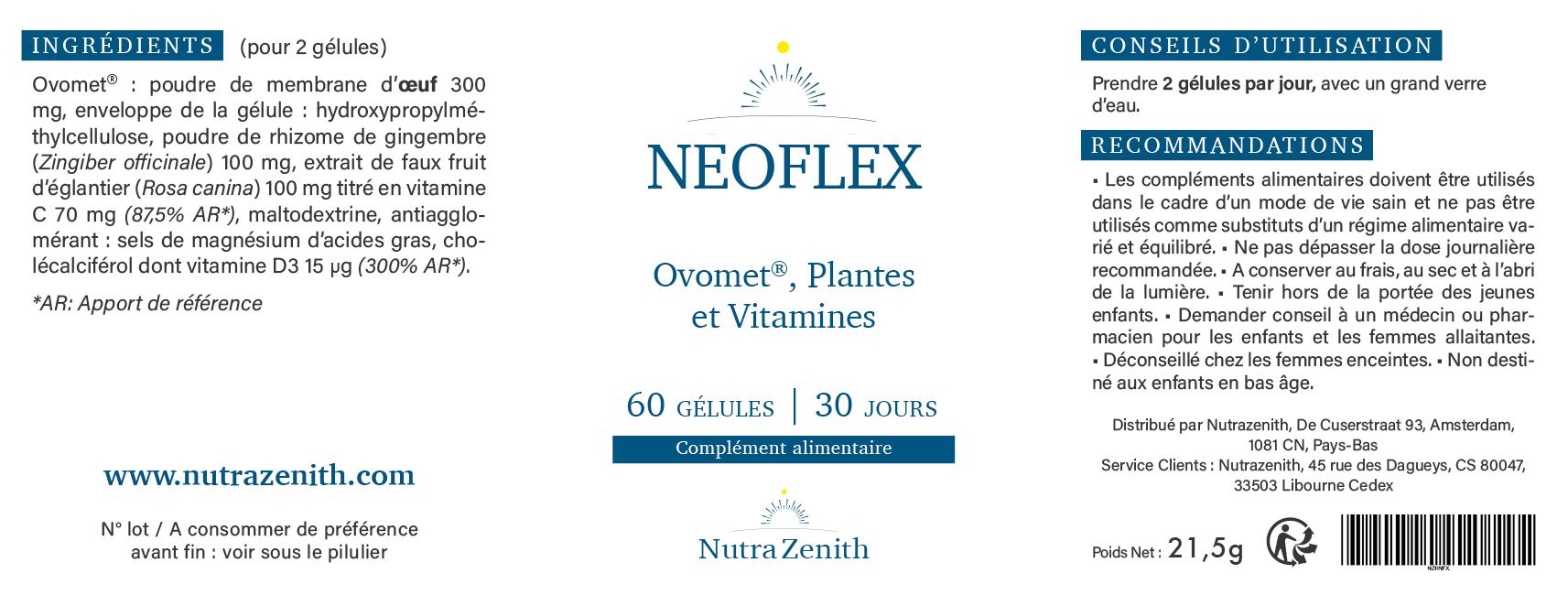 neoflex nutra zenith avis