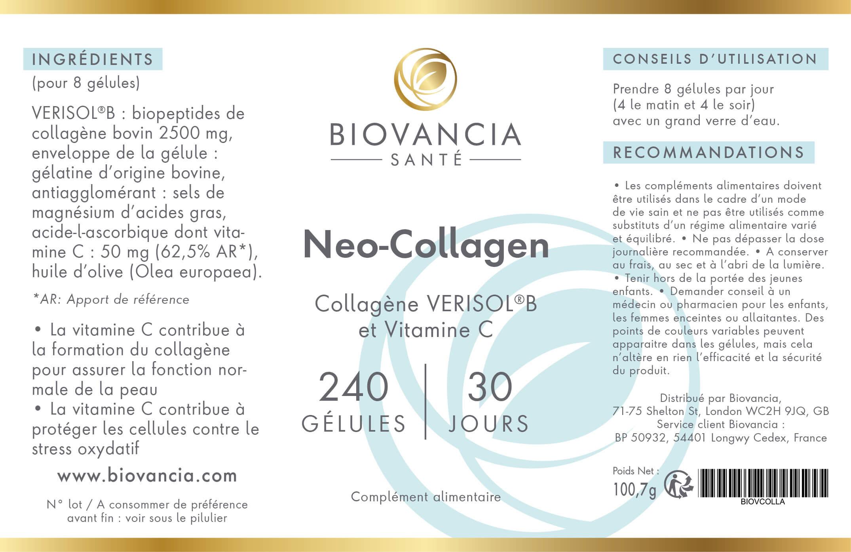 neo collagen biovancia avis